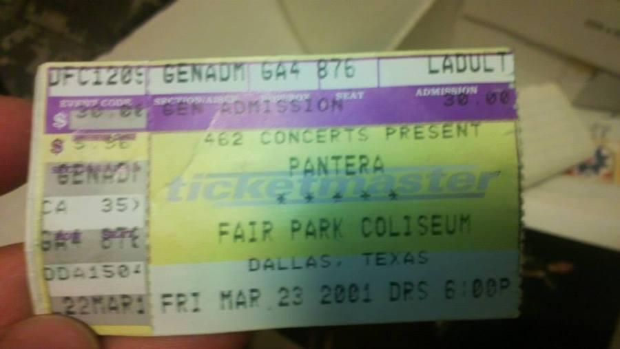 Pantera Ticket