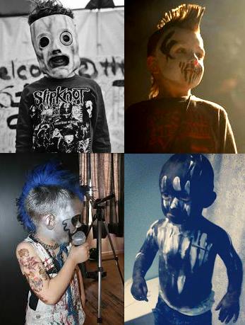 Slipknot, Mushroomhead, Mudvayne, Motograter